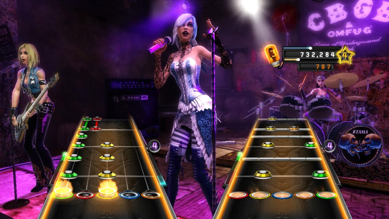 Guitar Hero World Tour Website
