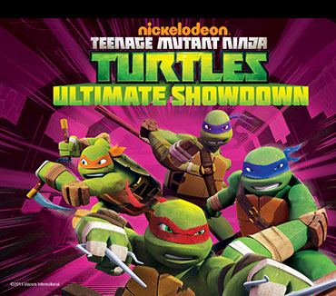 Teenage Mutant Ninja Turtles: Ultimate Showdown DVD ©2013 Viacom International