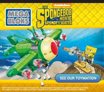 Red Carpet Dream: SpongeBob SquarePants Toymation by Mega Bloks